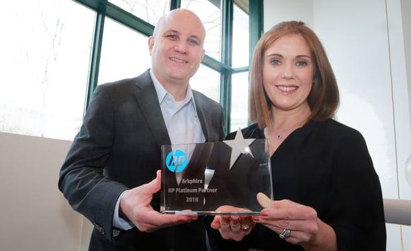 Arkphire-HP-Platinum-Partner-Award