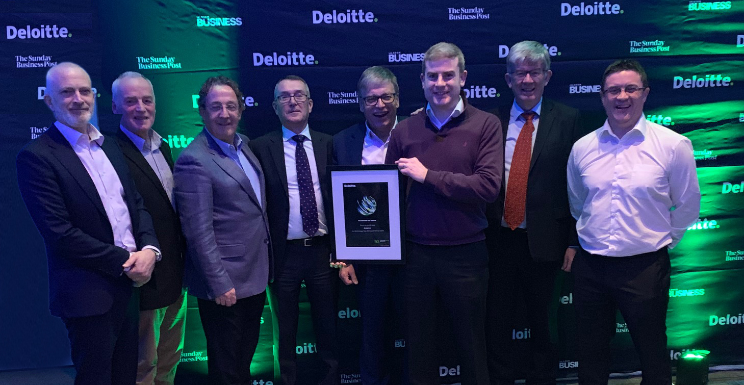 Deloitte awards - Arkphire staff