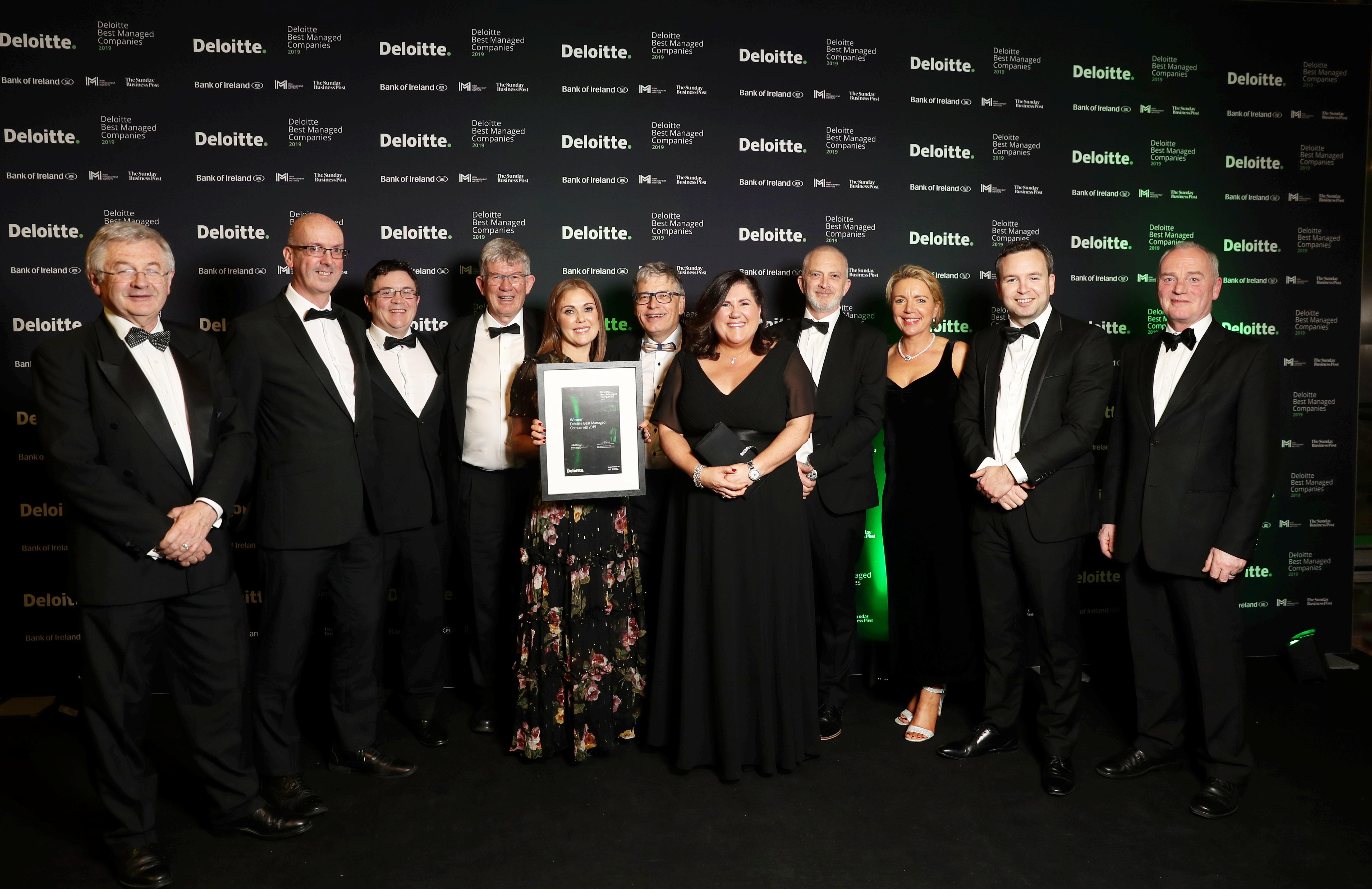 Arkphire - Deloitte Best Managed Award 2019