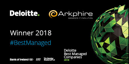 Arkphire announced as one of Ireland's Best Managed Companies