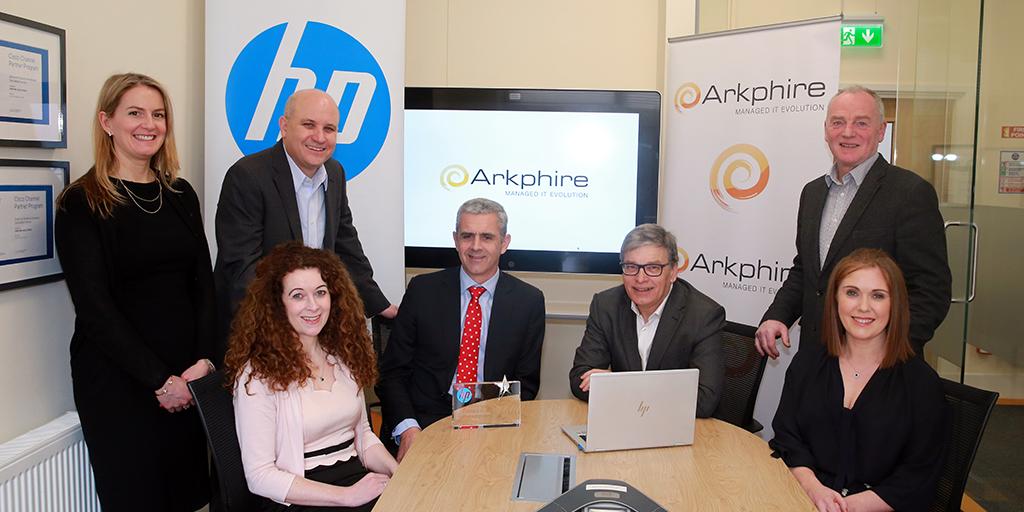 Arkphire awarded HP Platinum Partner Status