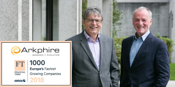 Arkphire named as a FT1000 Fastest Growing Company